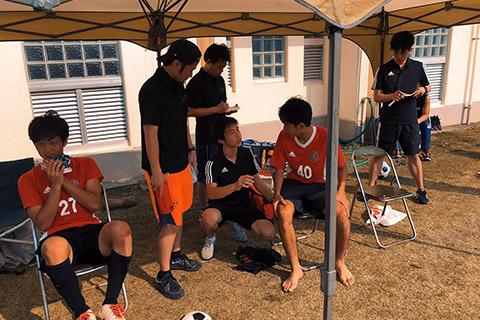 高校サッカートレーナー活動1