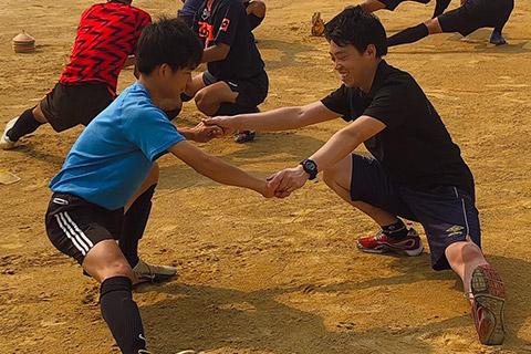 高校サッカートレーナー活動2