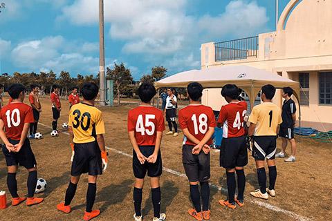 高校サッカートレーナー活動3